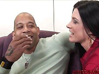 Babes get facial after BBC banging