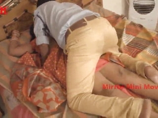Aunty Romance with Security Boy Mirror Short Film