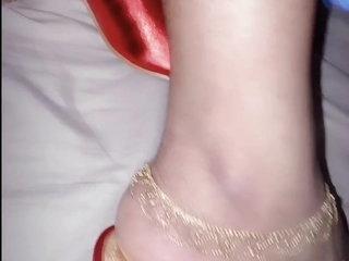 My wife feet , indian feet , sexy feet , my hot wife