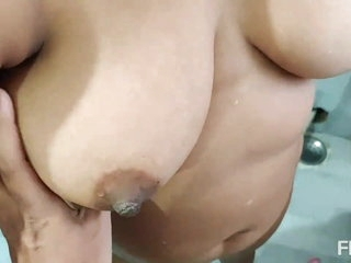 Bathroom sex with girlfriend