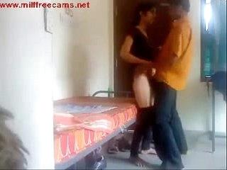 bf set hidden cam in room enjoys with gf more videos on www.milffreecams.net