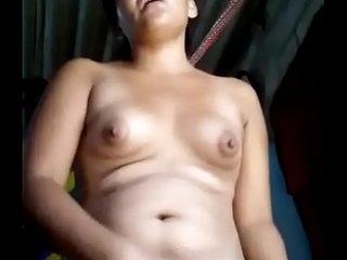 Assamese girl masturbating in bathroom