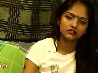 Indian College Teen Divya Striptease Show