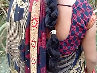 Desi village Bhabhi outdoor sex in jungle
