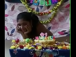 Nudes gf birthday clean shave pussy big boobs