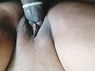 Indian girlfriend pussy up close and fucked by her boyfriend