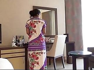 Shy Indian Bhabhi In Hotel Room With Her Newly Married Husband Honeymoon