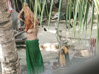 Desi bhabi bating hidden camera
