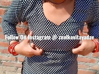 Indian Desi Kavita Wife Fucked In Salwar Dress With Devar